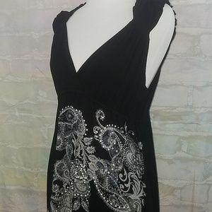 Sexy amazing S-twelve embellished dress size L